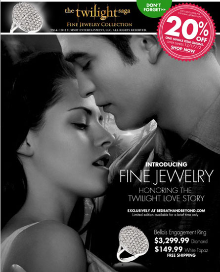 The Twilight Saga Fine Jewelry Collection