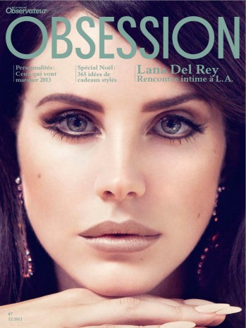 Lana Del Rey by Sofia Sanchez & Mauro Mongiello for Obsession