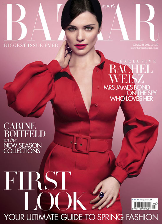 Rachel+Weisz+Harpers+Bazaar+UK+March+2013+1