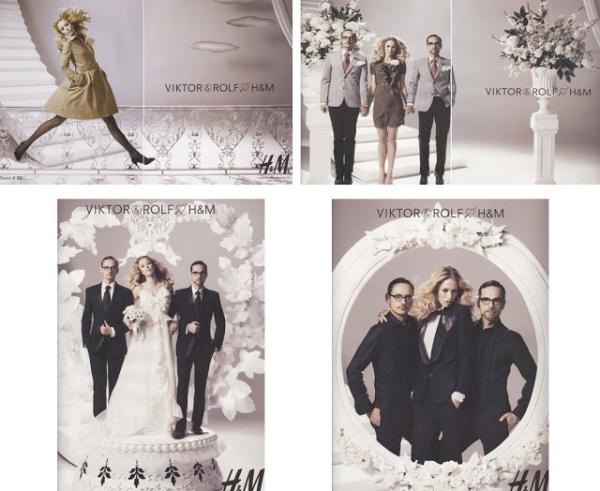 Viktor & Rolf Ads H&M