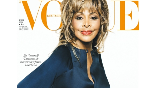 Dame Tina Tuner on Vogue (Deutsch)