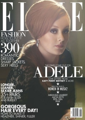 Adele on Elle