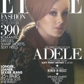 Adele on Elle