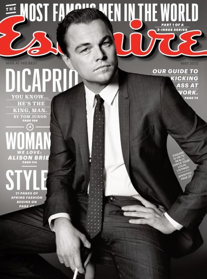 Leonardo Dicaprio for Esquire