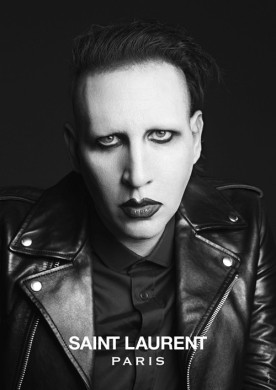 marilyn manson x Saint laurent2