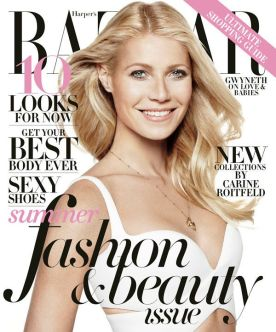 Gwyneth Paltrow on Harper Bazaar