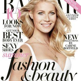 Gwyneth Paltrow on Harper Bazaar