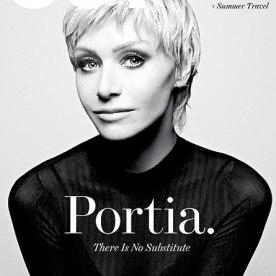 Portia De Rossi on Out Mag