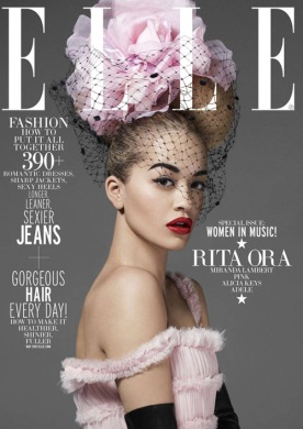 Rita Ora for Elle Mag