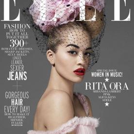Rita Ora for Elle Mag