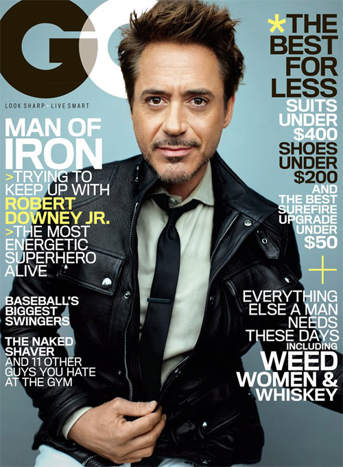 RDJ on GQ