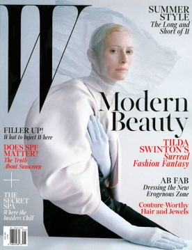 Tilda Swinton for W mag