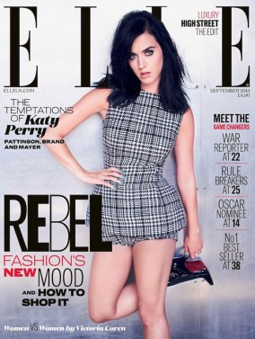 Katie Perry for Elle US