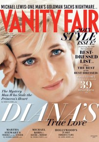 Feu Princess Diana for Vanity Fair