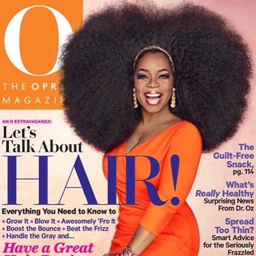Oprah for O mag