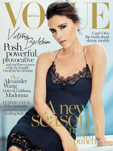 Victoria Beckham for Vogue Austalia