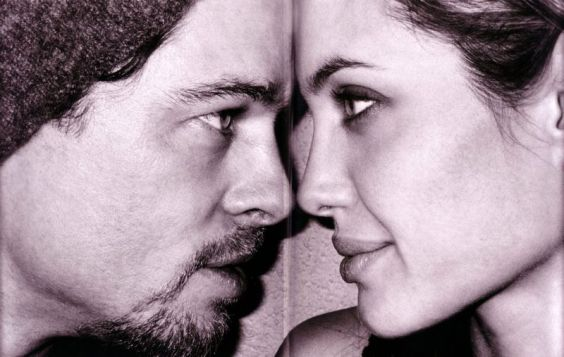 Brad Pitt, Angelina Jolie,mario testino