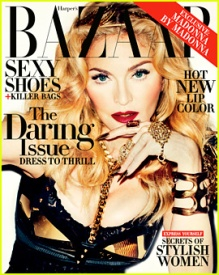 Madonna for Haper Bazaar