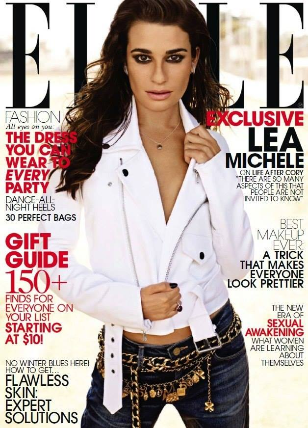 Lea Michele on Elle