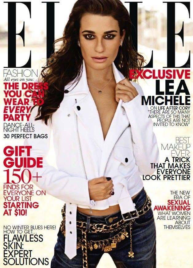 Lea Michele on Elle