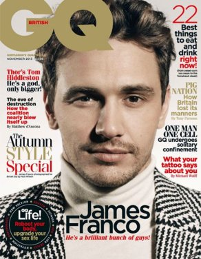 James Franco on GQ