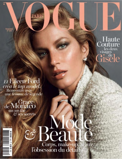 Gisele for Vogue France