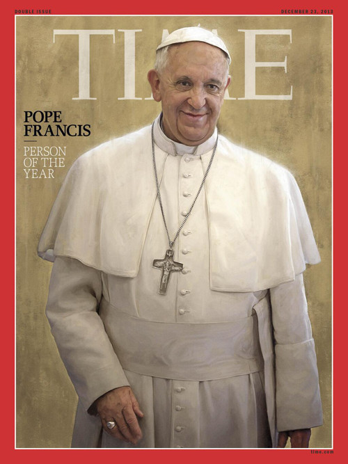 The Pope Francis as Time's Person Of The Year