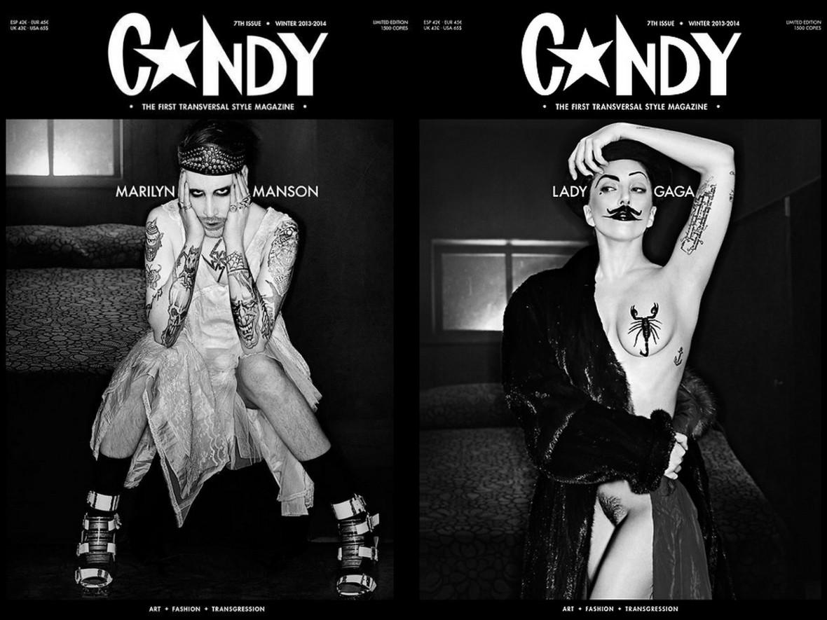 Lady Gaga Mm Candy Mag Beyond Celebrity