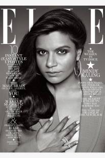 Mindy Kaling for Elle