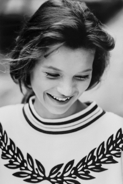 very young kate moss