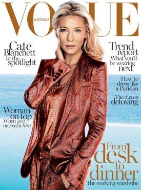 Cate Blanchett for Vogue Australia