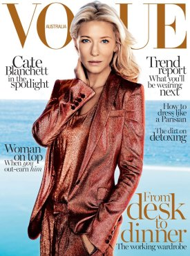 Cate Blanchett for Vogue Australia