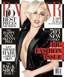 Lady Gaga for Harper Bazaar