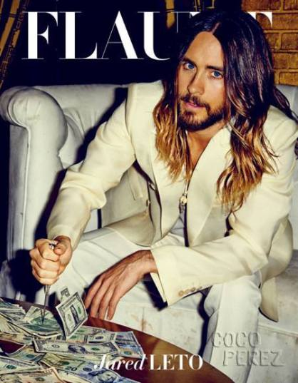 Jared Leto on Flaunt