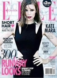 Kate Mara for Elle Canada