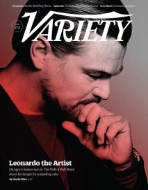 Leonardo Dicarprio for Variety