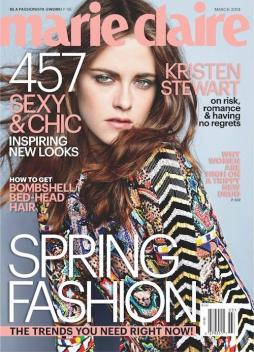 KristenStewart on Marie Claire UK