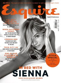 Sienna Miller on Esquire