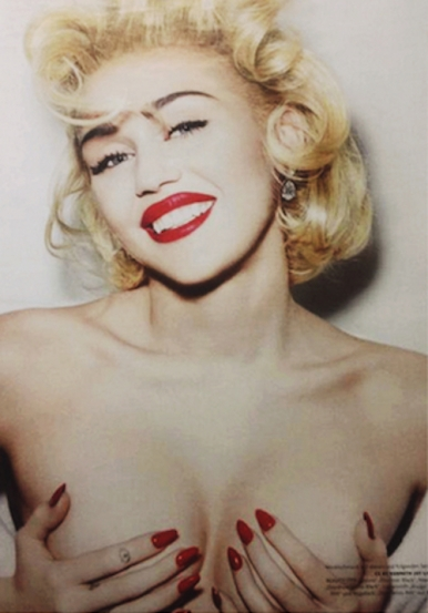 Miley Cyrus on Vogue Germany