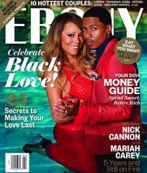 Mymy and husband for Ebony (Cheesy !!)