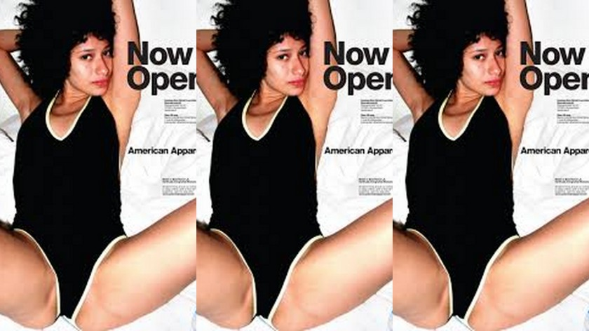 American Apparel 'Now Open' ads by Terry Richardson
