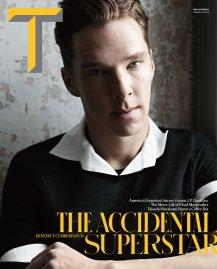 Benedict Cumberbatch covers New York Times' T Style Magazine