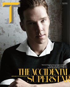 Benedict Cumberbatch covers New York Times' T Style Magazine