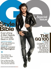 Kit Harington on Gq