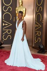 lupita oscars red carpet
