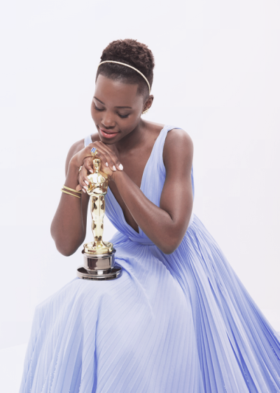 lupita with oscars