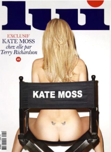 Kate Moss by Terry Richardson on Lui