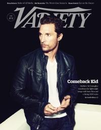Matthew McConaughey on Variety
