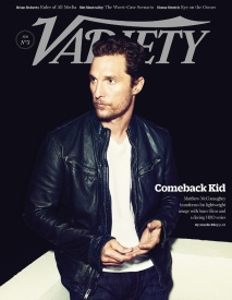 Matthew McConaughey on Variety
