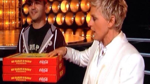 pepsi vs coke oscars
